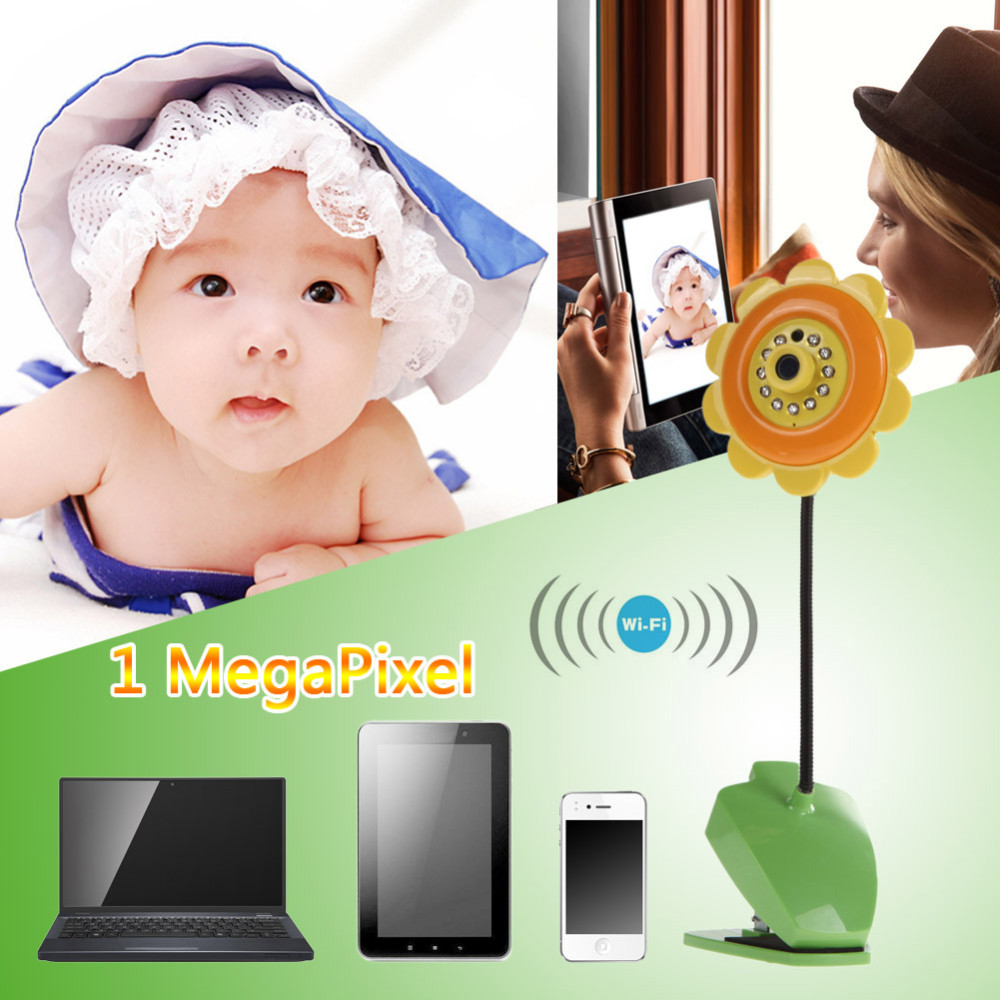 babyphone wifi cam ra de surveillance b b enfant. Black Bedroom Furniture Sets. Home Design Ideas