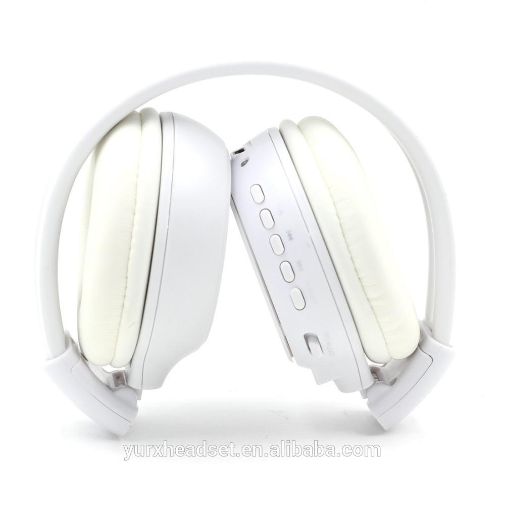 Casque mp3 bluetooth blanc - idée cadeau