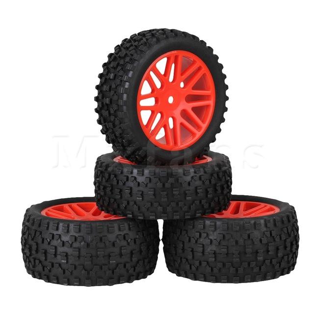 Jantes et pneus tout terrain hsp 1-10 orange - idée cadeau