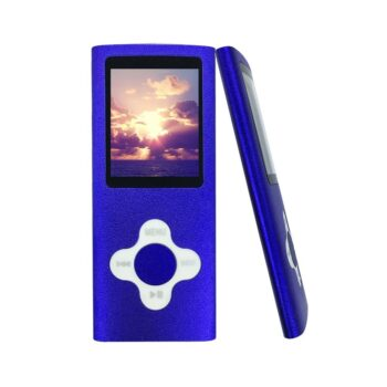baladeur mp3 mp4 player carte micro SD violet - idée cadeau