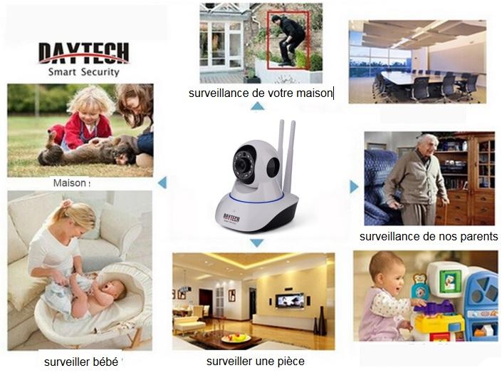Caméra de surveillance - idée cadeau