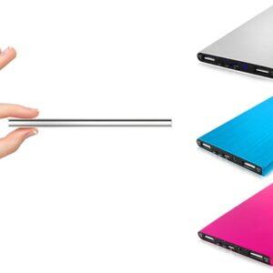 Batterie externe 3 couleurs- idée cadeau