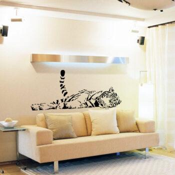 Sticker mural tigre - idée cadeau