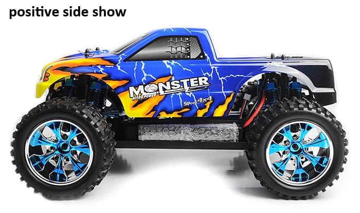 Monster truck brontosaurus 1/10 - idée cadeau