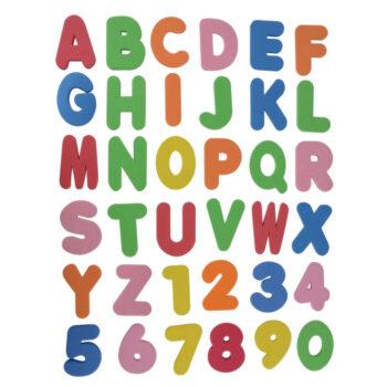 Alphabet et chiffres - idée cadeau pour les bébés