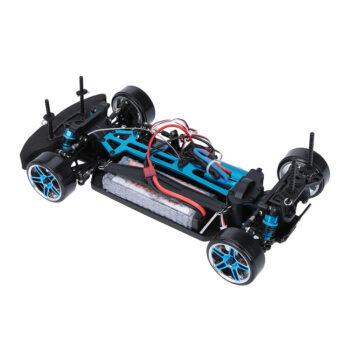 Aperçu de la partie électrique et moteur châssis Nissan 1/10