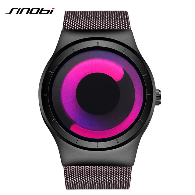 Montre homme Sinobi creative rotation