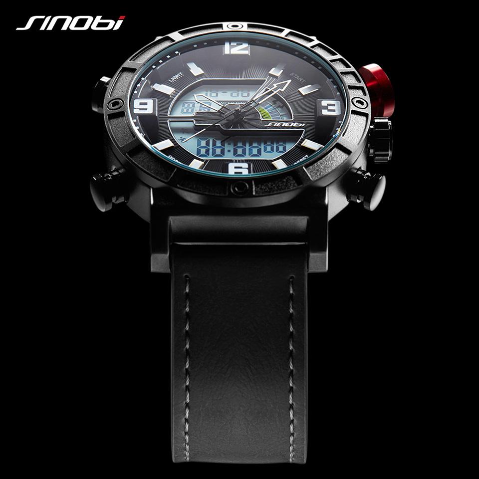 Montre de marque Sinobi chronomètre pour homme livraison 48 heures