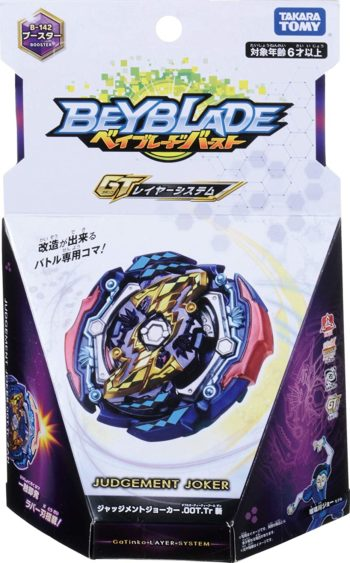 Toupie Toupie Beyblade Burst B-142 Judgement Joker 00Turn Trick Zan